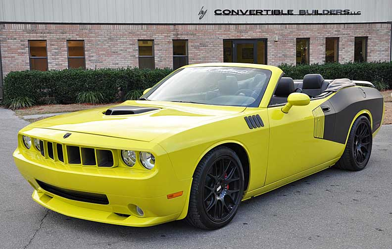 challenger convertible conversion autos post. Black Bedroom Furniture Sets. Home Design Ideas